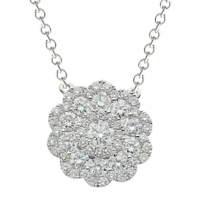 Diamond Pendant (0.63 ct. tw.) - P003470 - Small Image