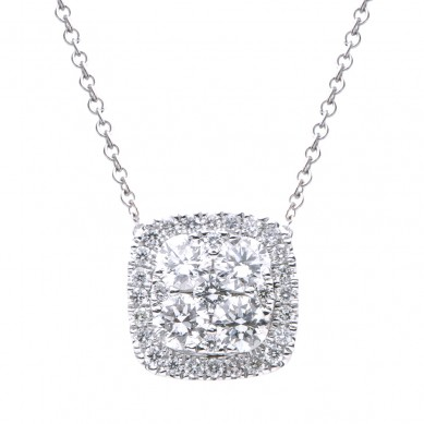 Diamond Pendant (0.69 ct. tw.) - P003496 - Small Image