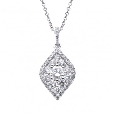 Diamond Pendant (0.58 ct. tw.) - P003530 - Small Image