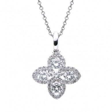 Diamond Pendant (0.42 ct. tw.) - P003531 - Small Image