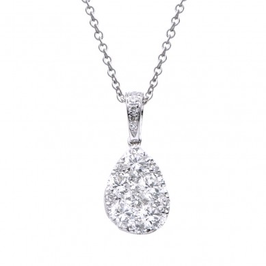 Diamond Pendant (0.85 ct. tw.) - P003532 - Small Image
