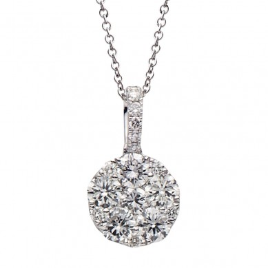 Diamond Pendant (1.05 ct. tw.) - P003533 - Small Image