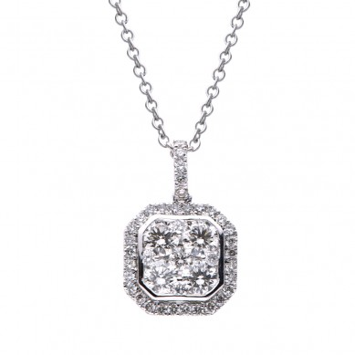 Diamond Pendant (0.91 ct. tw.) - P003534 - Small Image
