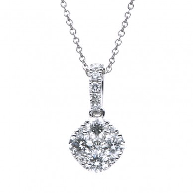 Diamond Pendant (0.63 ct. tw.) - P003535 - Small Image