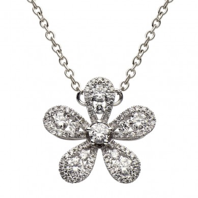 Diamond Pendant (0.53 ct. tw.) - P003620 - Small Image