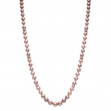 Pearl Necklace (5.00 ct. tw.) - PJ002062 - Small Image