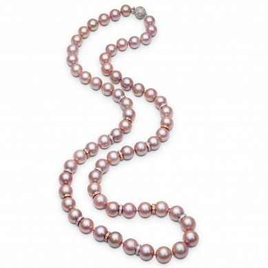 Pearl Necklace (5.00 ct. tw.) - PJ002071 - Small Image