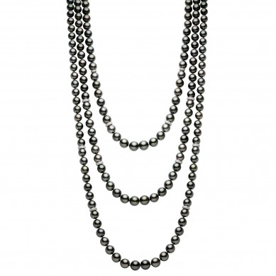 Triple Pearl Necklace (4.00 ct. tw.) - PJ002203 - Small Image