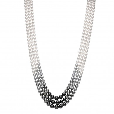 Pearl Necklace (3.10 ct. tw.) - PJ002214 - Small Image
