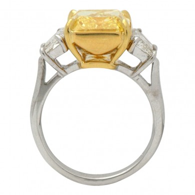 Fancy Colored Diamond Ring (8.16 ct. tw.) - YR003003 - Small Image