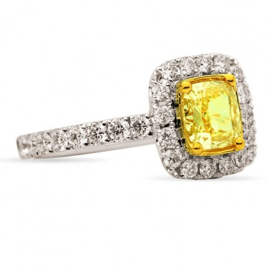 Fancy Colored Diamond Ring (2.07 ct. tw.) - YR003362 - Small Image