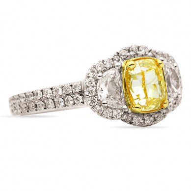 Fancy Colored Diamond Ring (2.52 ct. tw.) - YR003363 - Small Image