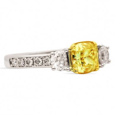 Fancy Colored Diamond Ring (1.93 ct. tw.) - YR003366 - Small Image