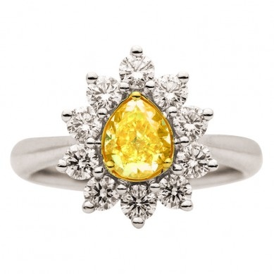 Fancy Colored Diamond Ring (2.10 ct. tw.) - YR003367 - Small Image
