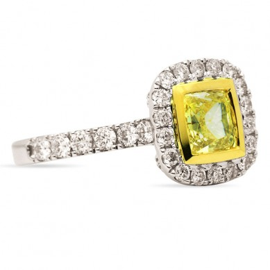 Fancy Colored Diamond Ring (2.55 ct. tw.) - YR003369 - Small Image