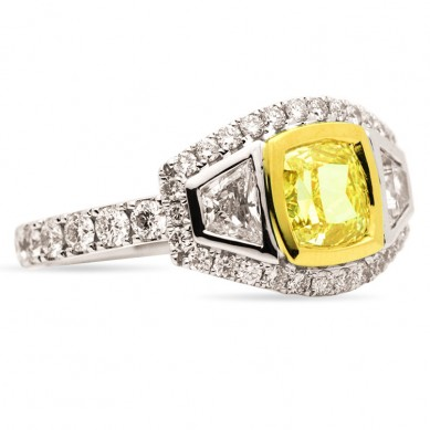 Fancy Colored Diamond Ring (2.70 ct. tw.) - YR003371 - Small Image