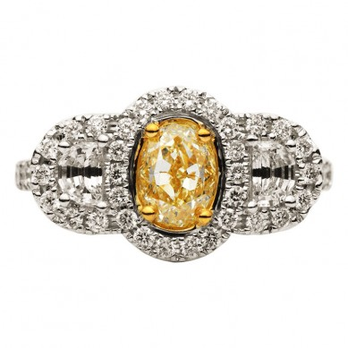 Fancy Colored Diamond Ring (2.23 ct. tw.) - YR003387 - Small Image