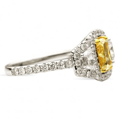Fancy Colored Diamond Ring (2.87 ct. tw.) - YR003388 - Small Image
