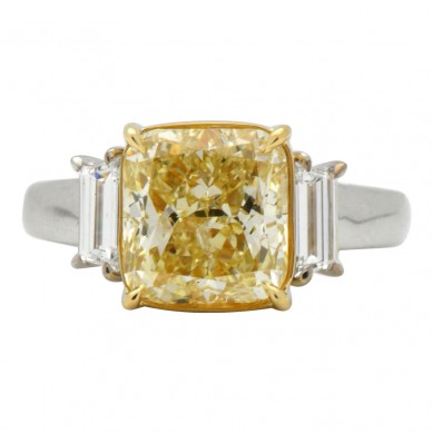 Fancy Colored Diamond Ring (5.72 ct. tw.) - YR003585 - Small Image