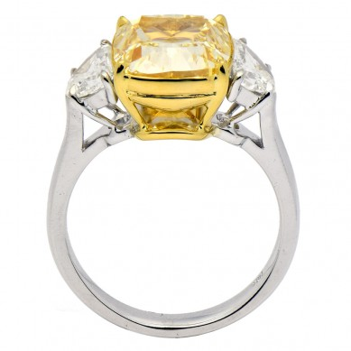 Fancy Colored Diamond Ring (7.09 ct. tw.) - YR003617 - Small Image