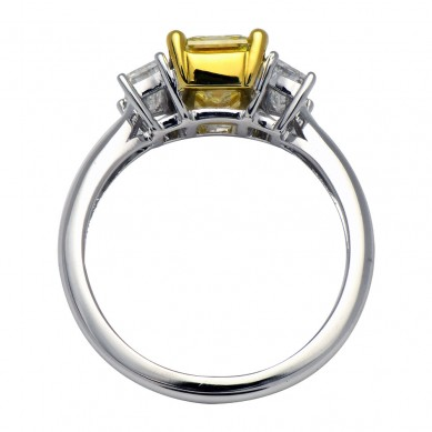 Fancy Colored Diamond Ring (2.73 ct. tw.) - YR003618 - Small Image