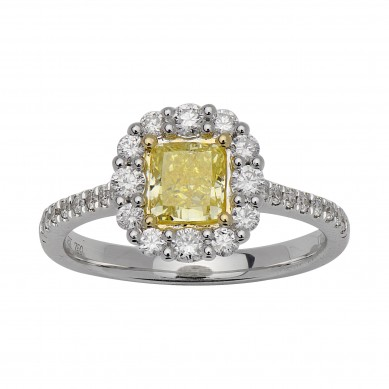 Fancy Colored Diamond Ring (1.12 ct. tw.) - YR003621 - Small Image